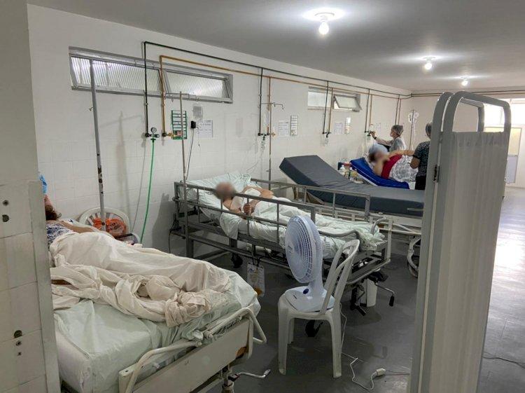 CRM-PB visita Hospital Pedro I e constata 100? ocupação nos leitos de enfermaria