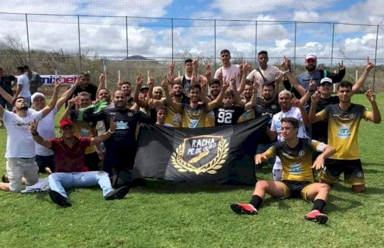 Campeonato Paraibano de FUT 7 : Racha Pé de Ouro vence Mulungu e conquista a Microrregional Borborema na região de Boqueirão